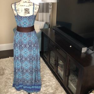 Cynthia Rowley Dresses - Cynthia Rowley Spaghetti Strap Maxi Dress (EUC)